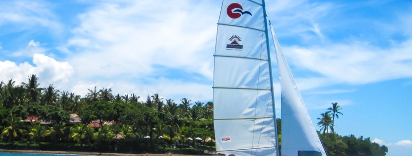 Sailing in west Bali