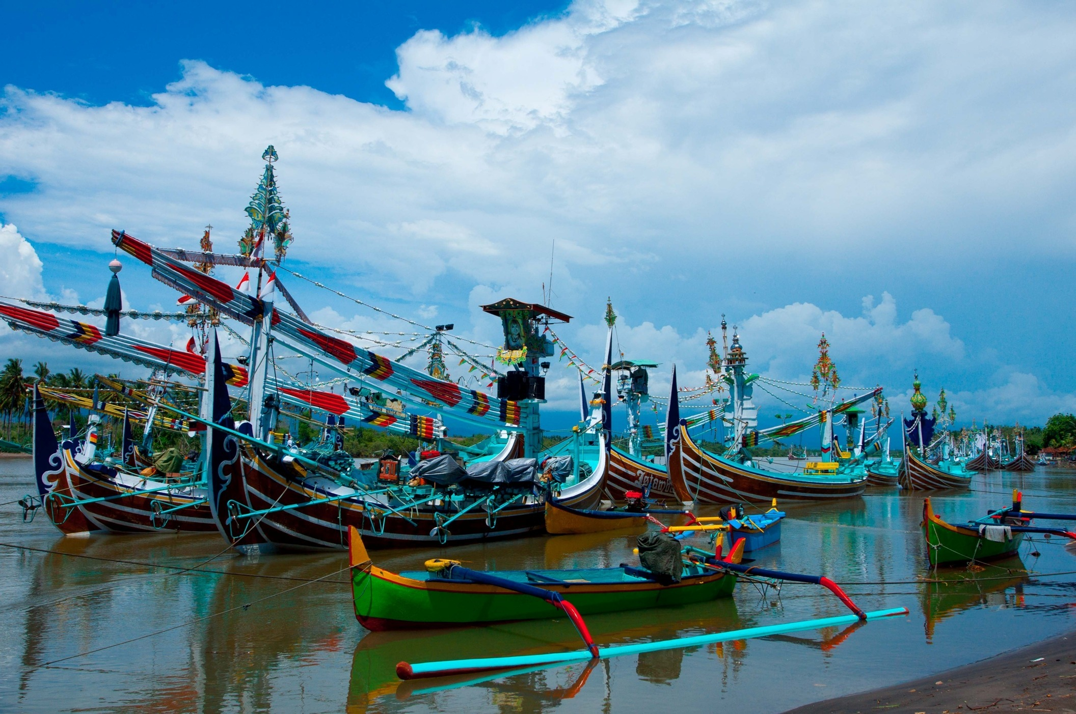 Perancak - fishing boat