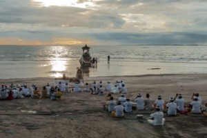 Melasti Ritual Puri Dajuma, Beach Eco-Resort & Spa, West Bali