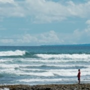 Nyepi ritual Puri Dajuma, Beach Eco-Resort & Spa, West Bali