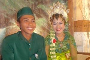 Great emotion at Puri Dajuma: Yulia gets married! Puri Dajuma, Beach Eco-Resort & Spa, West Bali
