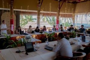 Corporate seminar at Dajuma Puri Dajuma, Beach Eco-Resort & Spa, West Bali