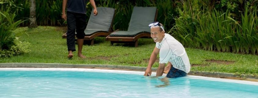 Dajuma's trainees Puri Dajuma, Beach Eco-Resort & Spa, West Bali