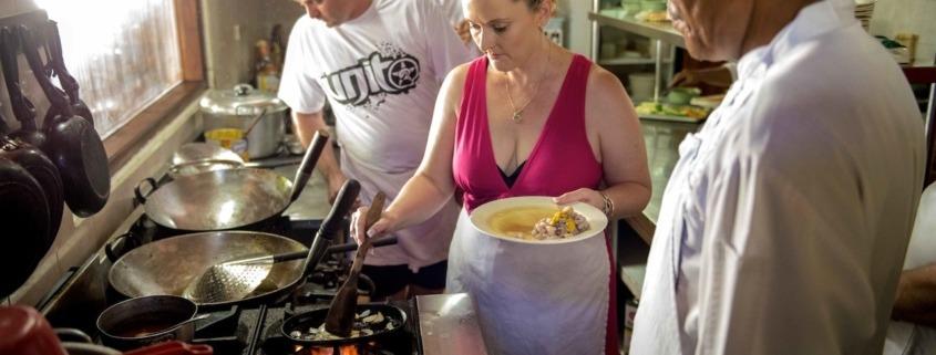Dajuma cooking lessons Puri Dajuma, Beach Eco-Resort & Spa, West Bali