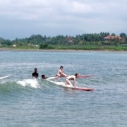 Surfing lessons Puri Dajuma, Beach Eco-Resort & Spa, West Bali