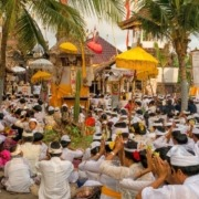 Pekutatan 30 years ceremony Puri Dajuma, Beach Eco-Resort & Spa, West Bali