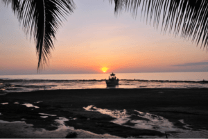 Pekutatan beach in the « Jakarta Post » newspaper Puri Dajuma, Beach Eco-Resort & Spa, West Bali