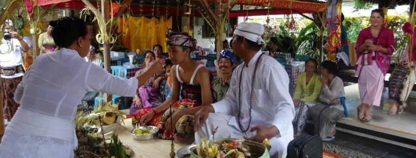 Gandi's Rajasewala ceremony Puri Dajuma, Beach Eco-Resort & Spa, West Bali