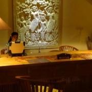 A new Front Desk at Dajuma Puri Dajuma, Beach Eco-Resort & Spa, West Bali