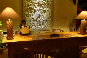 A new Front Desk at Dajuma Puri Dajuma, Beach Eco-Resort & Spa, West Bali