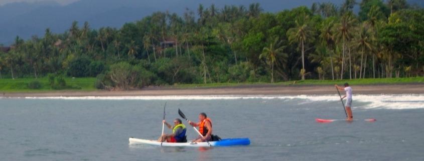 SUP and sea kayak : how to enjoy West Bali from the sea Puri Dajuma, Beach Eco-Resort & Spa, West Bali