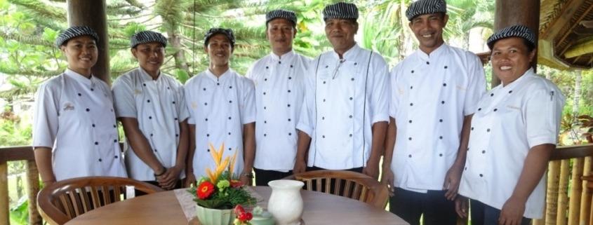 25 new dishes in Dajuma Main Menu Puri Dajuma, Beach Eco-Resort & Spa, West Bali