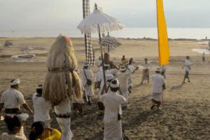 Nyepi celebration at Dajuma Puri Dajuma, Beach Eco-Resort & Spa, West Bali