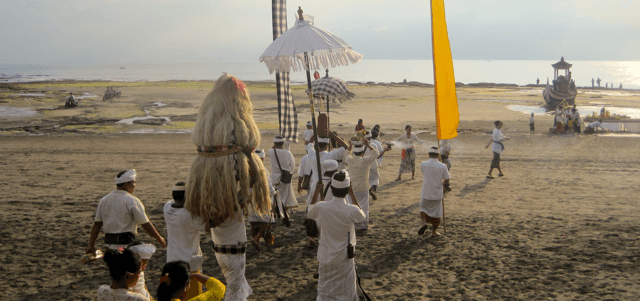 Nyepi celebration at Dajuma