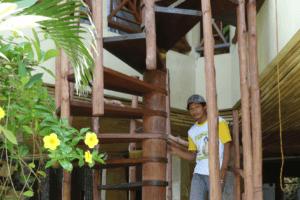 New access to Sinta lounge Puri Dajuma, Beach Eco-Resort & Spa, West Bali