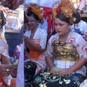 Bayu, Ayu and Ari celebrated their Mepetik ceremony Puri Dajuma, Beach Eco-Resort & Spa, West Bali