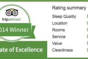 Certificate of Excellence Award Puri Dajuma, Beach Eco-Resort & Spa, West Bali