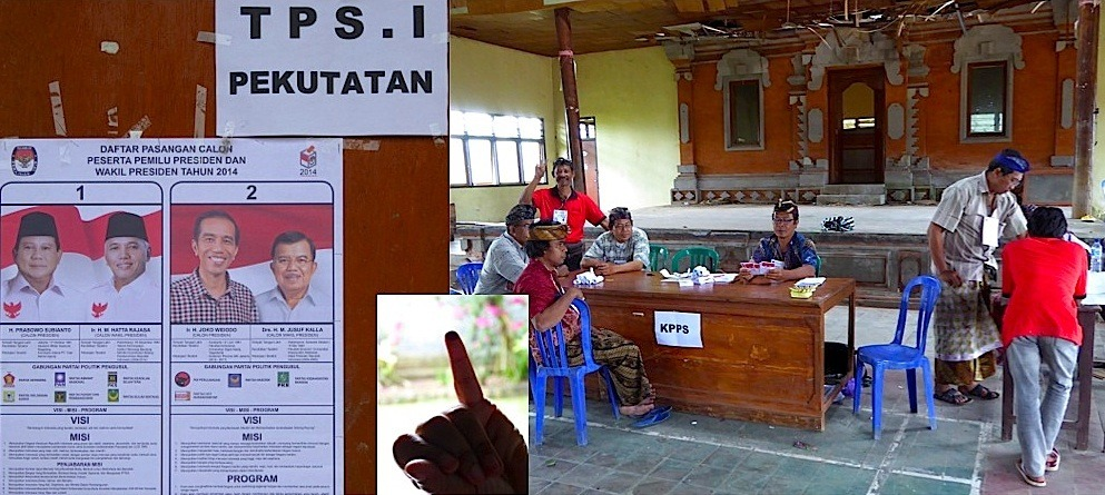 Presidential Elections seen from Pekutatan