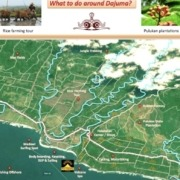 A new free map to discover the surroundings of Dajuma Puri Dajuma, Beach Eco-Resort & Spa, West Bali