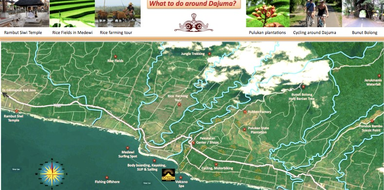 bali free map pekutatan