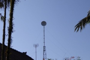 New Internet Antenna at Dajuma Puri Dajuma, Beach Eco-Resort & Spa, West Bali