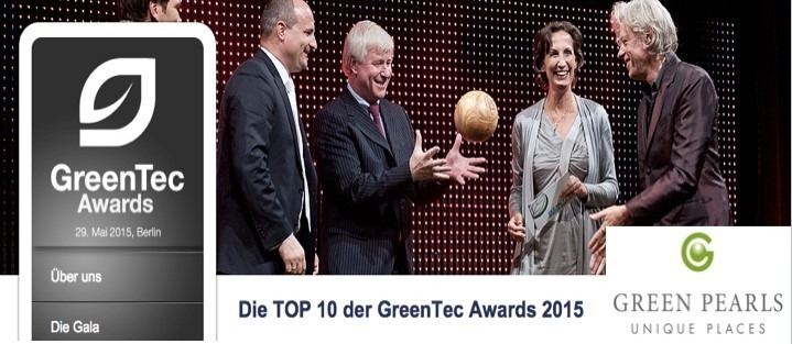 Dajuma en route for the GreenTec Award 2015