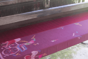 Traditional weaving looms… Puri Dajuma, Beach Eco-Resort & Spa, West Bali