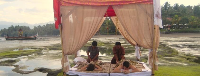 Is it possible to learn about the secrets of Balinese massage at Dajuma? Puri Dajuma, Beach Eco-Resort & Spa, West Bali