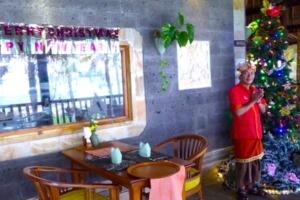 Christmas & Galungan Puri Dajuma, Beach Eco-Resort & Spa, West Bali