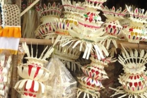 Galungan celebration Puri Dajuma, Beach Eco-Resort & Spa, West Bali