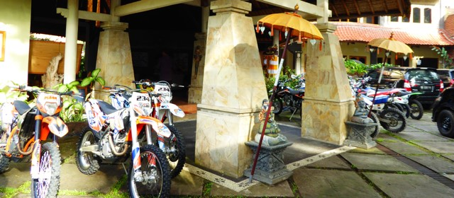 Special Trail Bike Event in Pekutatan this week Puri Dajuma, Beach Eco-Resort & Spa, West Bali
