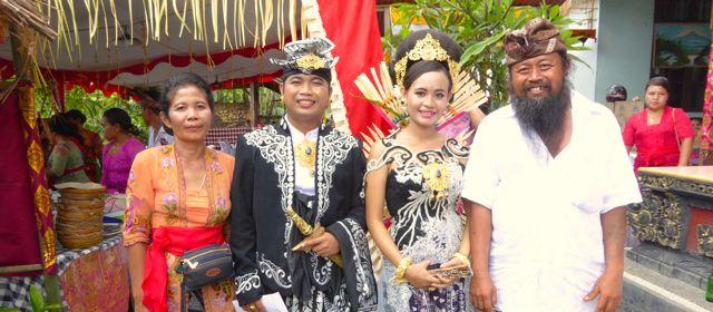 Bayu's wedding in Pekutatan Puri Dajuma, Beach Eco-Resort & Spa, West Bali