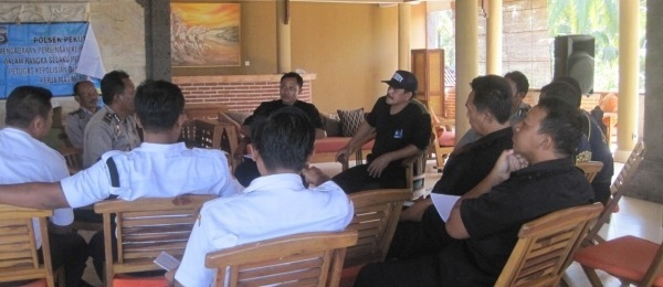 Training of Security Staffs of Hotels & Restaurant in Pekutatan Area