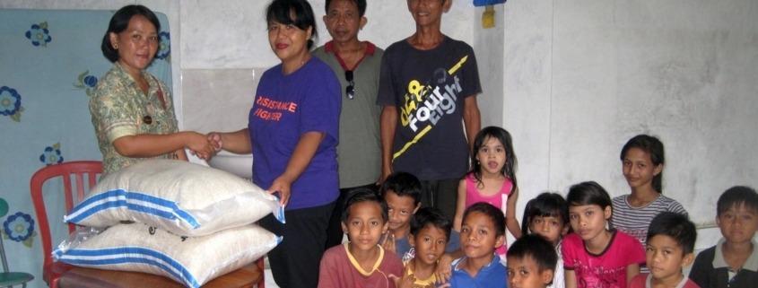 A visit to Panti Asuhan Budi Mulia Orphanage Puri Dajuma, Beach Eco-Resort & Spa, West Bali
