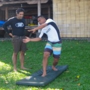 SURF LESSON AT DAJUMA Puri Dajuma, Beach Eco-Resort & Spa, West Bali