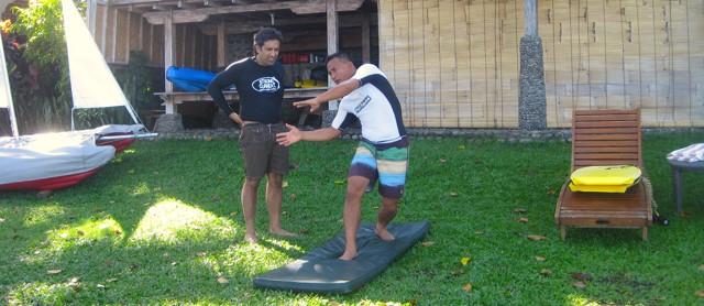 SURF LESSON AT DAJUMA Puri Dajuma, Beach Eco-Resort & Spa, West Bali