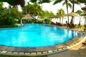 POOL LIFTING Puri Dajuma, Beach Eco-Resort & Spa, West Bali