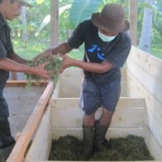 COMPOSTING AT DAJUMA Puri Dajuma, Beach Eco-Resort & Spa, West Bali