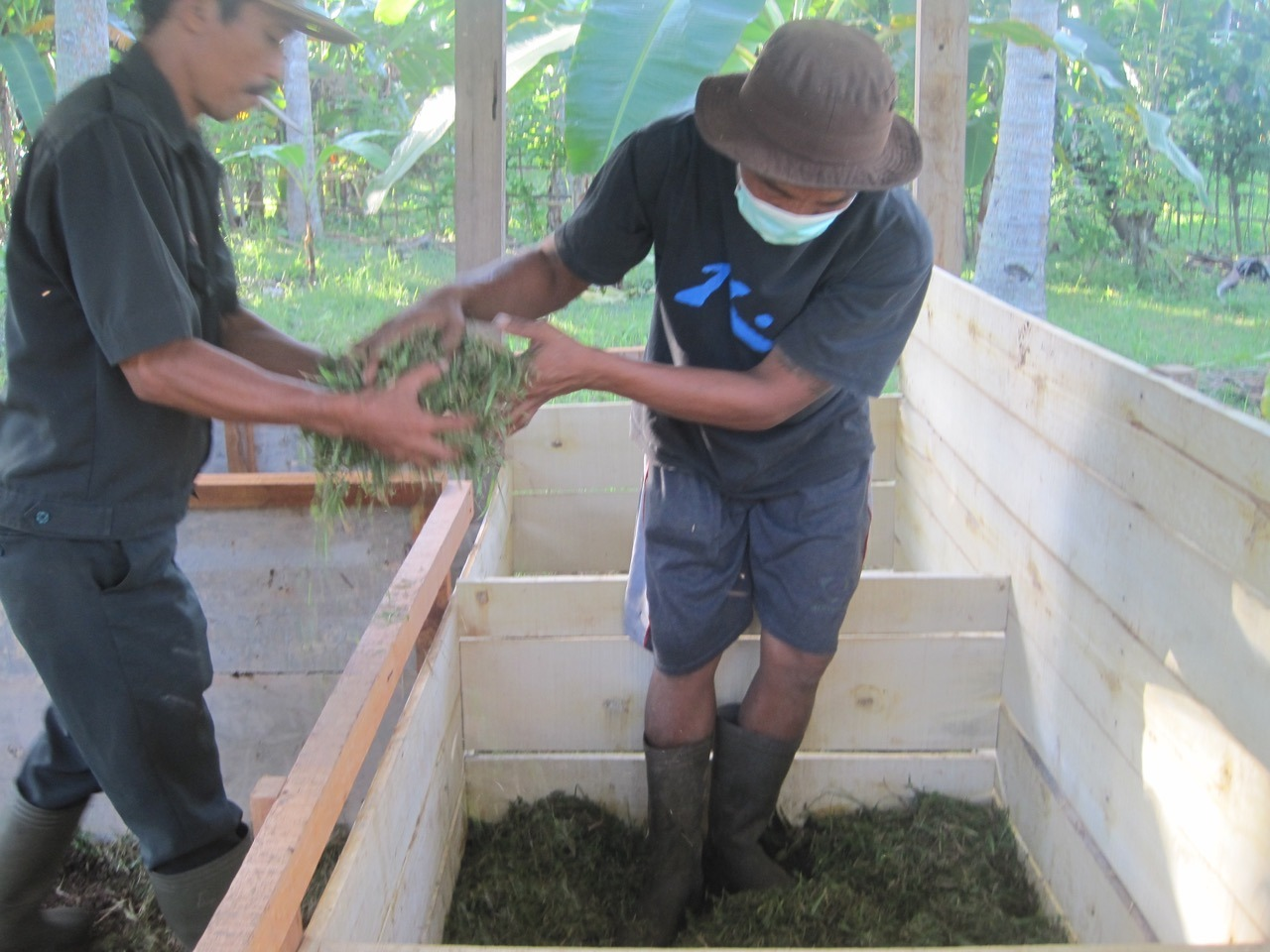 COMPOSTING AT DAJUMA