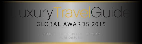 "PURI DAJUMA REWARDED ""LUXURY ECO-RESORT OF THE YEAR"""