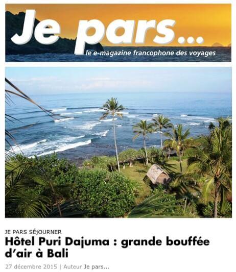 """Dajuma in """"Je Pars"""" Puri Dajuma, Beach Eco-Resort & Spa, West Bali"""
