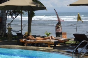 SUMMERTIME RELAX AT DAJUMA Puri Dajuma, Beach Eco-Resort & Spa, West Bali Dajuma