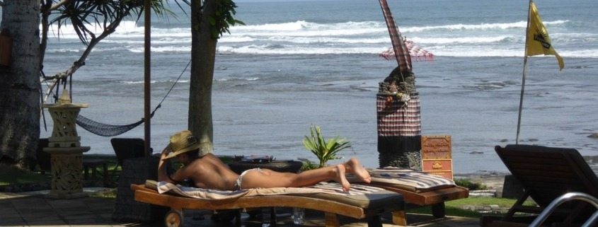 SUMMERTIME RELAX AT DAJUMA Puri Dajuma, Beach Eco-Resort & Spa, West Bali Dajuma