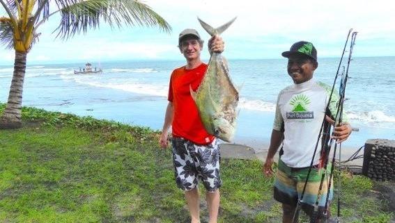 NICE CATCH! Puri Dajuma, Beach Eco-Resort & Spa, West Bali Fishing People Sport Tours