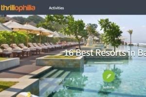 DAJUMA IS PART OF THE TOP 16 BEST RESORTS IN BALI Puri Dajuma, Beach Eco-Resort & Spa, West Bali