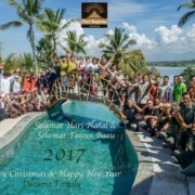 Merry Christmas and Happy New Year! Puri Dajuma, Beach Eco-Resort & Spa, West Bali