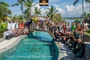 Merry Christmas and Happy New Year! Puri Dajuma, Beach Eco-Resort & Spa, West Bali