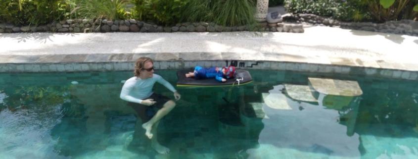 BABY ON BOARD Puri Dajuma, Beach Eco-Resort & Spa, West Bali loveling baby forever