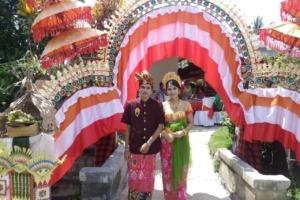 HAPPY WEDDING OF OUR COLLEAGUE GUSALIT Puri Dajuma, Beach Eco-Resort & Spa, West Bali