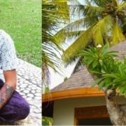 BEAUTIFUL WOODEN SCULPTURES OF BALI Puri Dajuma, Beach Eco-Resort & Spa, West Bali Culture Dajuma People